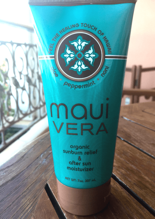 808 Wellness Maui Vera Organic After Sun