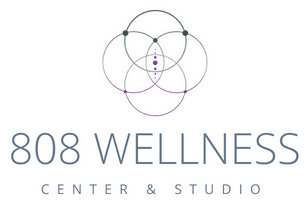 808 Wellness: Spa & Yoga Studio Logo