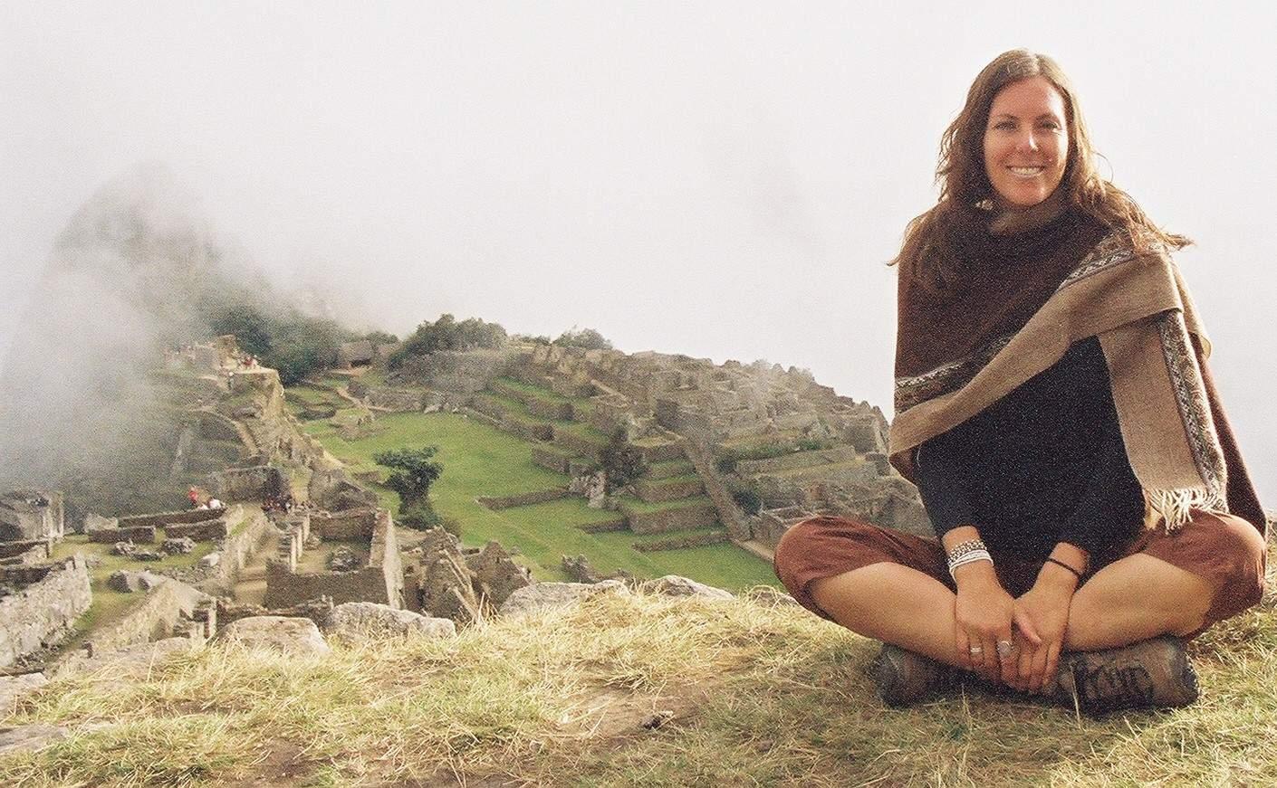 Meditation at Machu Sara Schroepfer