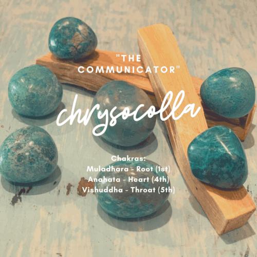 Chrysocolla Shaman Crystal Kit