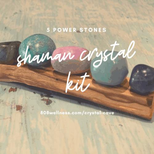 Shaman Crystal Kit - 5 Power stones